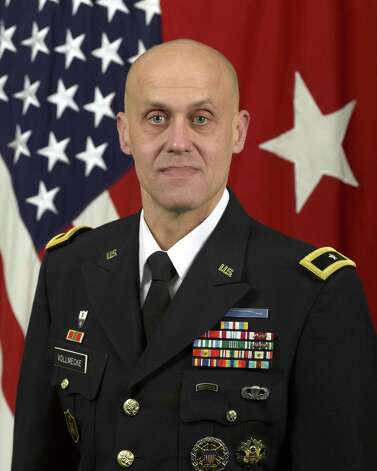 Army Brig. Gen. Kirk Vollmecke is commanding general of the Mission and Installation Contracting Command, Fort Sam Houston. Photo: Courtesy / DIGITAL