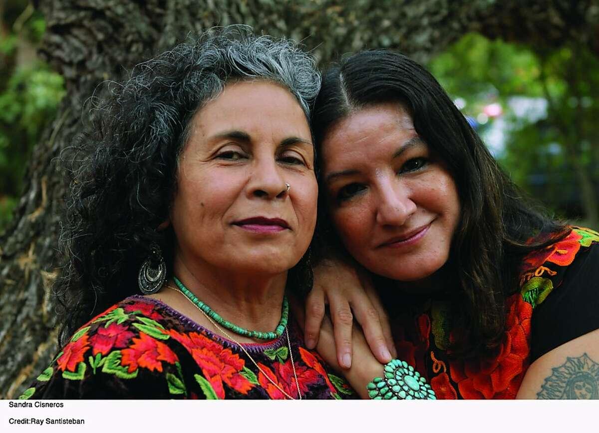 Sandra Cisneros with Ester Hernandez