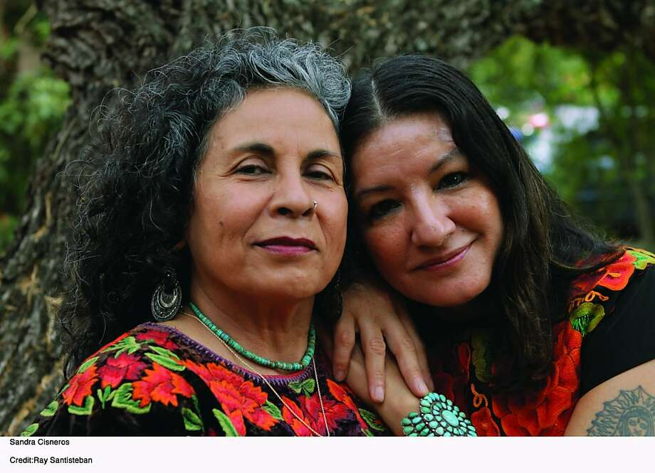 Ester Hernández and Sandra Cisneros Photo: Ray Santisteban