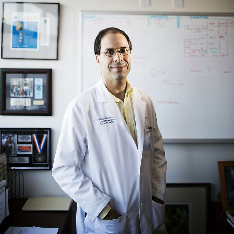 Dr. Eric Small of UCSF is principal investigator of a project to find better ways to treat prostate cancer. Photo: Stephen Lam, Special To The Chronicle