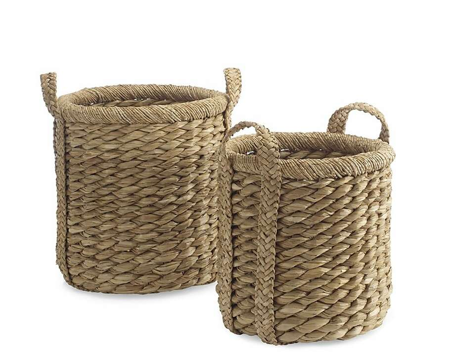 More: $128 to $178 Higbee Round Baskets from Williams-Sonoma (williams-sonomas.com) Photo: Williams Sonoma