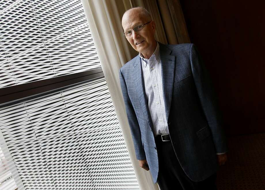 Larry Stupski, former Charles Schwab Corp. president, was diagnosed with prostate cancer in 2003. Photo: Brant Ward, The Chronicle