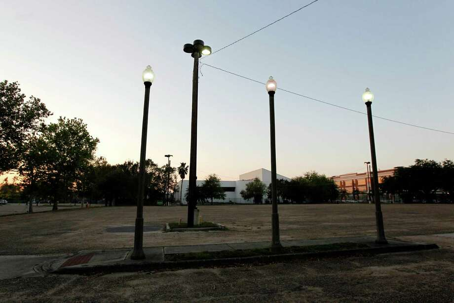 Lamp posts in an empty lot are seen in the Treme section of New Orleans. The historic New Orleans neighborhood where immigrants, free people of color and slaves were allowed to own property, worship on Sundays and gather in public to dance and play music, has hit a milestone. It was roughly 200 years ago that cottages were built and a community established just beyond the French Quarter in the area named for French milliner and property owner, Claude Treme. Photo: Gerald Herbert, Associated Press / AP