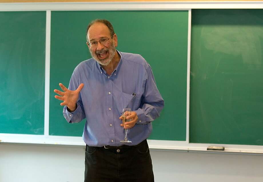 Alvin Roth, who teaches at Stanford, won the Nobel Memorial Prize in Economic Sciences. Photo: Darryl Bush, Associated Press