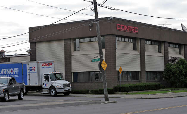 Exterior view of the Contec Company at 1023 State Street in Schenectady where 132 workers were given layoff notices according to Contec Holdings, Ltd. COO Carroll W. Foreman Jr. July 24, 2009.   (Skip Dickstein / Times Union) Photo: SKIP DICKSTEIN