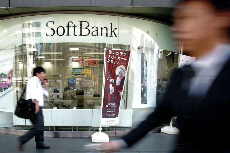 One of SoftBank's stores is in Tokyo. The Japanese mobile-phone operator seeks growth overseas with its investment in Sprint Nextel, the third biggest wireless carrier in the U.S. Photo: Kiyoshi Ota / © 2012 Bloomberg Finance LP