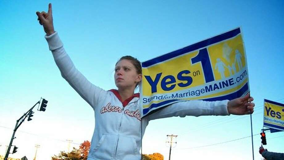 """""""Question One,"""" a documentary about the fight for same-sex marriage, opens Friday. Photo: Fly On The Wall"""