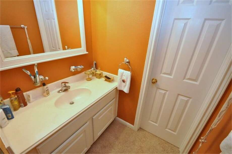In addition to the master, three and a half other bathrooms are found throughout the house. Photo: Keller Williams