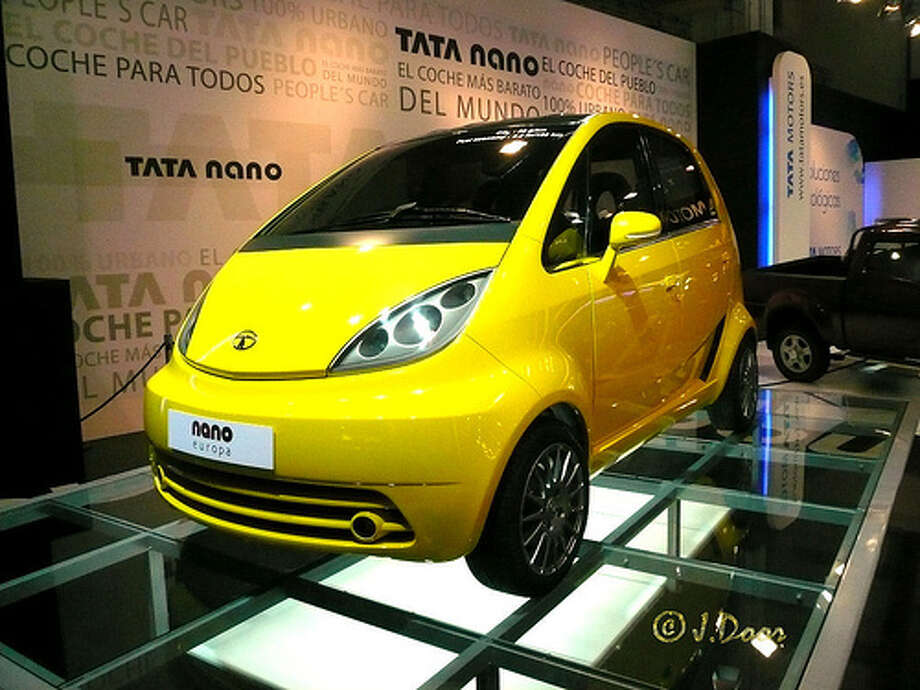 Tata Nano (Photo: Porschista, Flickr)