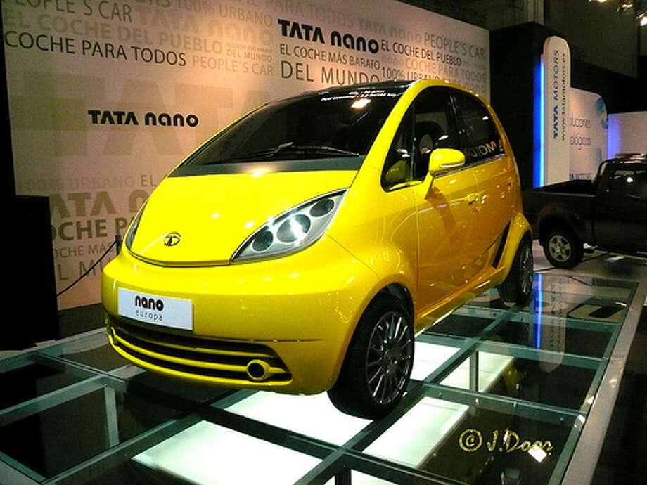 Tata Nano (Photo: Porschista, Flickr)