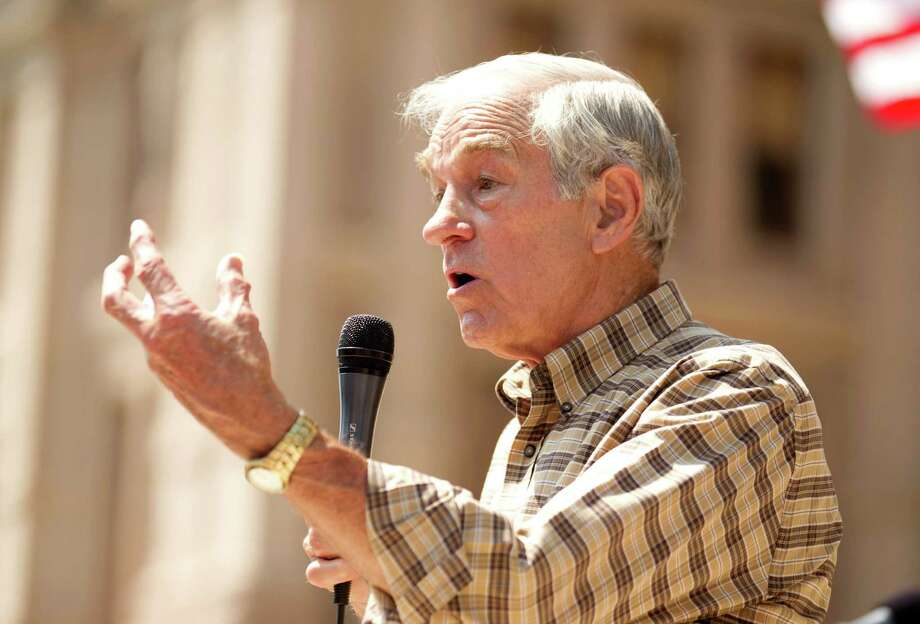 Ron Paul speaks at The Tea Party Express rally at the Capitol in Austin, Sunday, May 6, 2012. Photo: Jay Janner, McClatchy-Tribune News Service / Austin American-Statesman