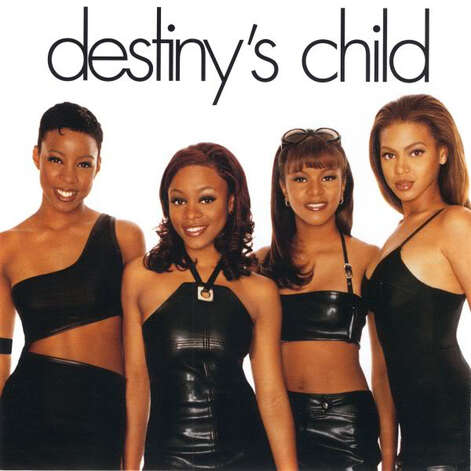 CD COVER - Cover of first Destiny's Child album, 1998 Shown: Kelly Rowland, LaTavia Roberson, LeToya Luckett, Beyoncé Knowles / handout