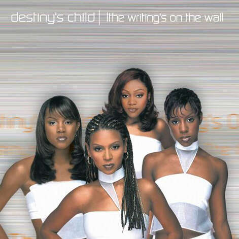 CD COVER - Cover of second Destiny's Child album, The Writing's on the Wall Shown: LeToya Luckett, Beyoncé Knowles, LaTavia Roberson, Kelly Rowland / handout