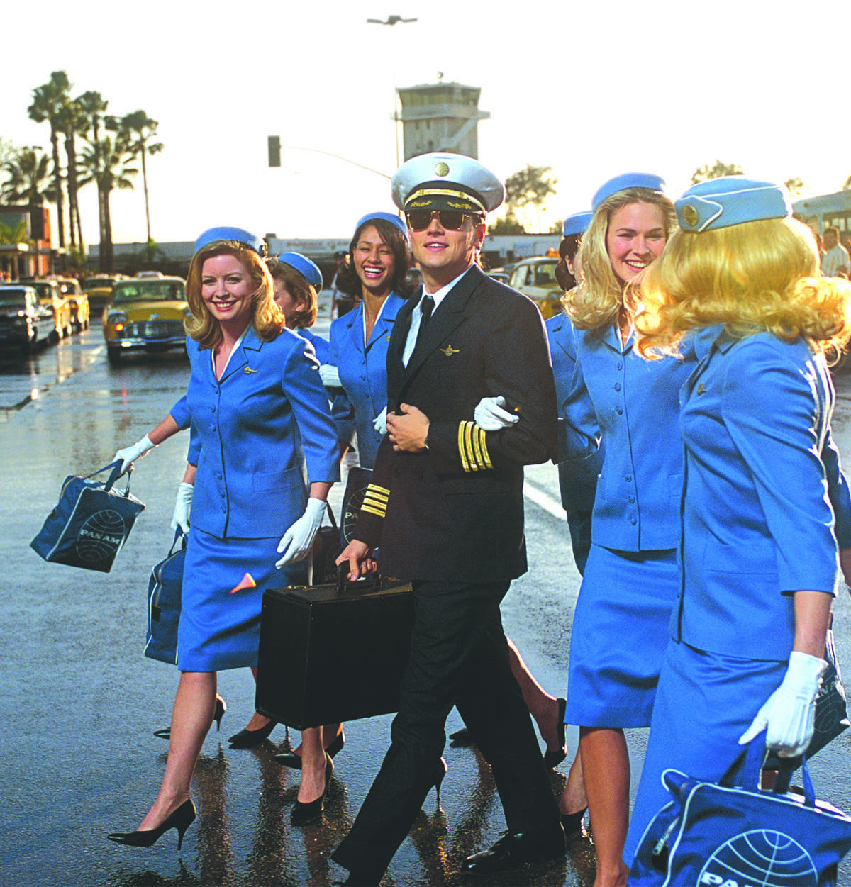 In the true story 'Catch Me If You Can,' DiCaprio portrays Frank Abagnale, who passed himself off as a lawyer, a doctor and an airline pilot.