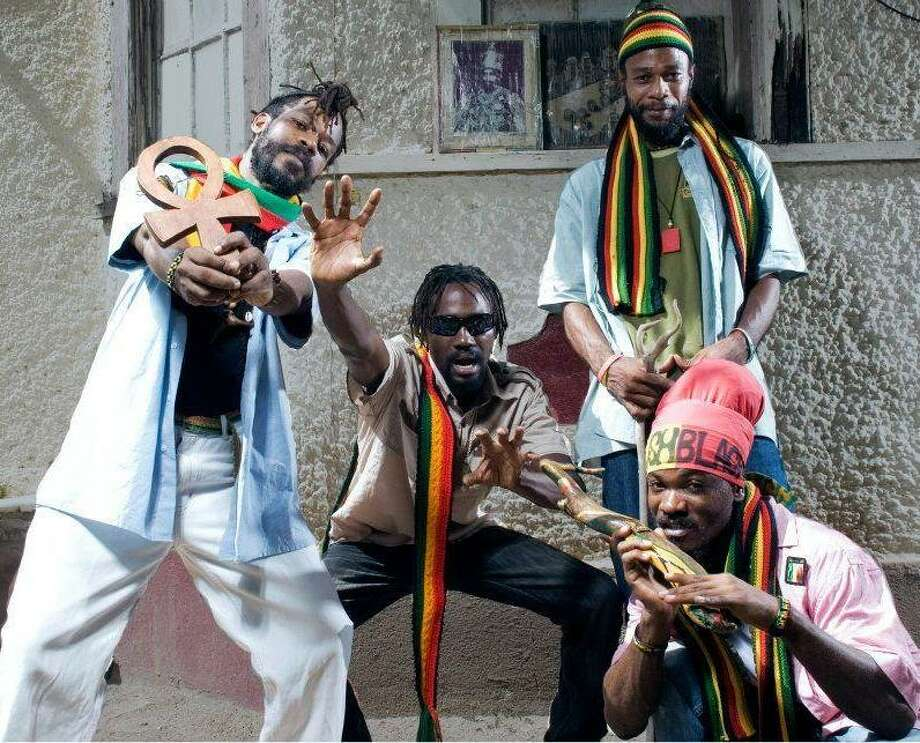 The Uprising Roots, from Kingston, Jamaica, will headline the Reggae Festival on Sunday. The festival runs Saturday and Sunday at the Reggae Bar. Jim Beal Jr. / San Antonio Express-News Photo: Courtesy Photo