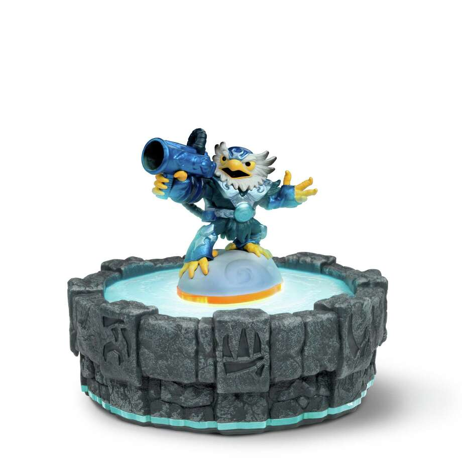 "Jet-Vac is one of 16 new characters created for the ""Skylanders"" series.