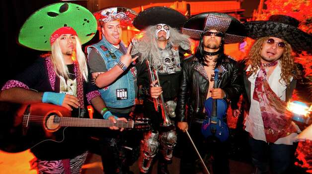Hollywood band Metalachi, which plays rock and metal with traditional mariachi instruments Photo: Courtesy Photo