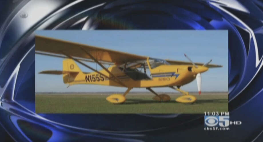 Andrew Hayden, 75, was found in the wreckage of an Aeropro cz-s240, similar to this plane pictured, on a bluff near Ocean Boulevard and Bernal Avenue outside Moss  Beach on Oct. 16,2012. He crashed shortly after takeoff from Half Moon Bay Airport. Photo: CBS San Francisco