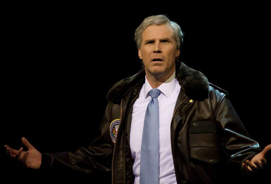 In 2009, Will Ferrell put on a one-man show in 'You're Welcome America. A Final Night with George W. Bush.' The Broadway performance was also broadcast on HBO. Photo: Phillip V. Caruso, MCT / HBO
