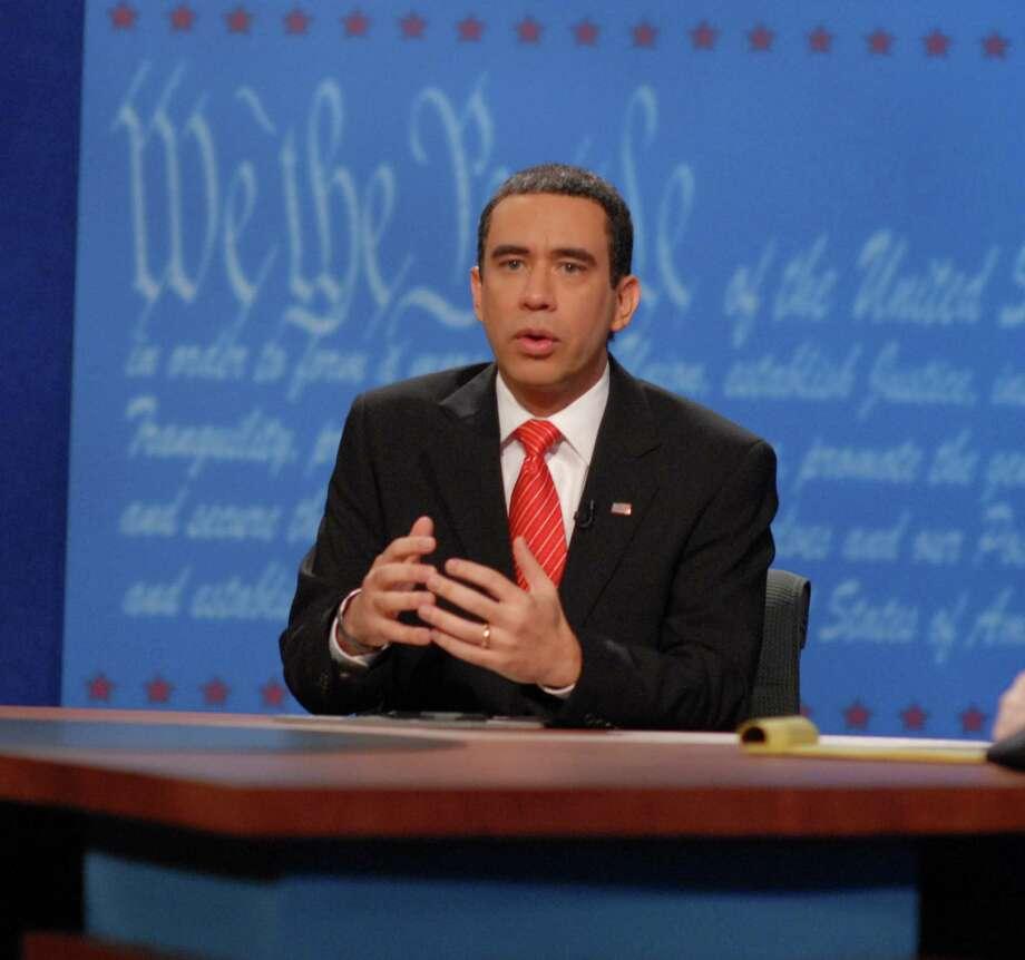Fred Armisen as Barack Obama. Photo: Dana Edelson, © NBC Universal, Inc. / email - lana berkowitz