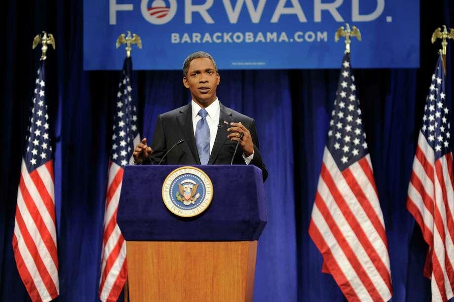 Master impersonator Jay Pharoah is the latest to play President Barack Obama . Photo: AP