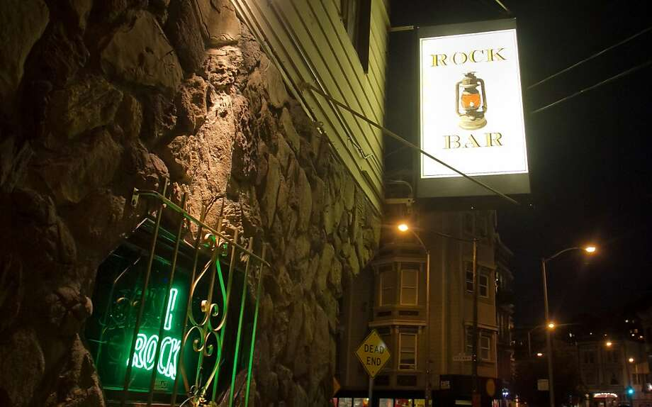 Rock Bar on 29th Street in San Francisco is owned by the same people behind the Front Porch restaurant nearby, and it shares a similar kitschy aesthetic. Photo: John Storey, Special To The Chronicle