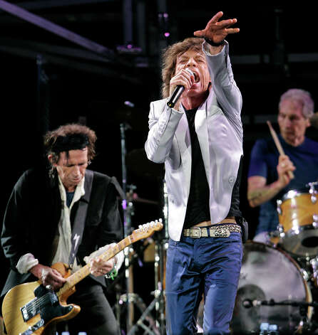 "The Rolling Stones are all about ""Doom and Gloom."" Photo: Associated Press / AP"
