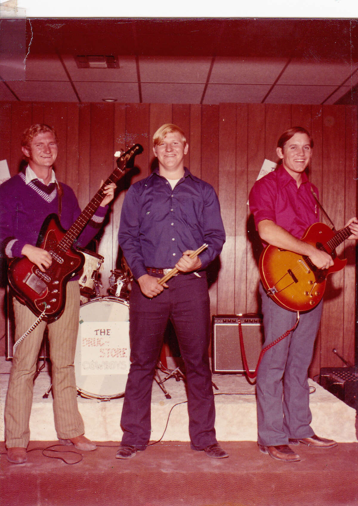 The original Drugstore Cowboys in 1972: Tommy McKay, from left, Robert