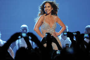 Sometimes clothes just don't cooperate. Or are the accidental flashes and glimpses sometimes intentional?  Jennifer Lopez  is among the latest celebs  to suffer some over-exposure, which happened with this skin-tight catsuit in front of thousands of people at a performance in Bologna, Italy in 2012.