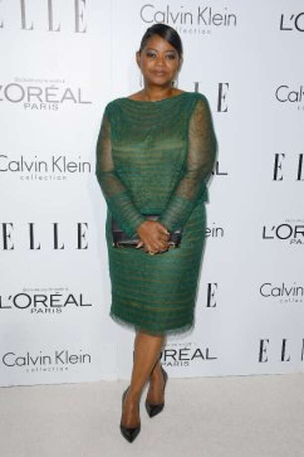 Actress Octavia Spencer arrives at ELLE's 19th Annual Women In Hollywood Celebration at the Four Seasons Hotel on October 15, 2012 in Beverly Hills, California.   (Frazer Harrison / Getty Images)