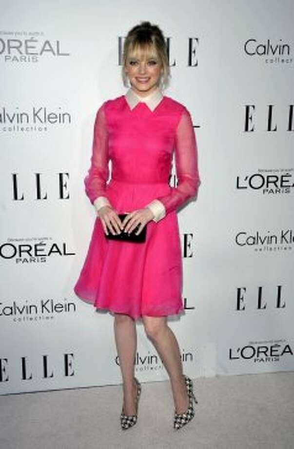 Actress Emma Stone attends the 19th Annual ELLE Women In Hollywood Celebration in Los Angeles on Monday, Oct. 15, 2012.  ( John Shearer/Invision / Associated Press)