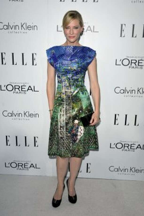 Actress Cate Blanchett attends the 19th Annual ELLE Women In Hollywood Celebration in Los Angeles on Monday, Oct. 15, 2012.  ( John Shearer/Invision / Associated Press)
