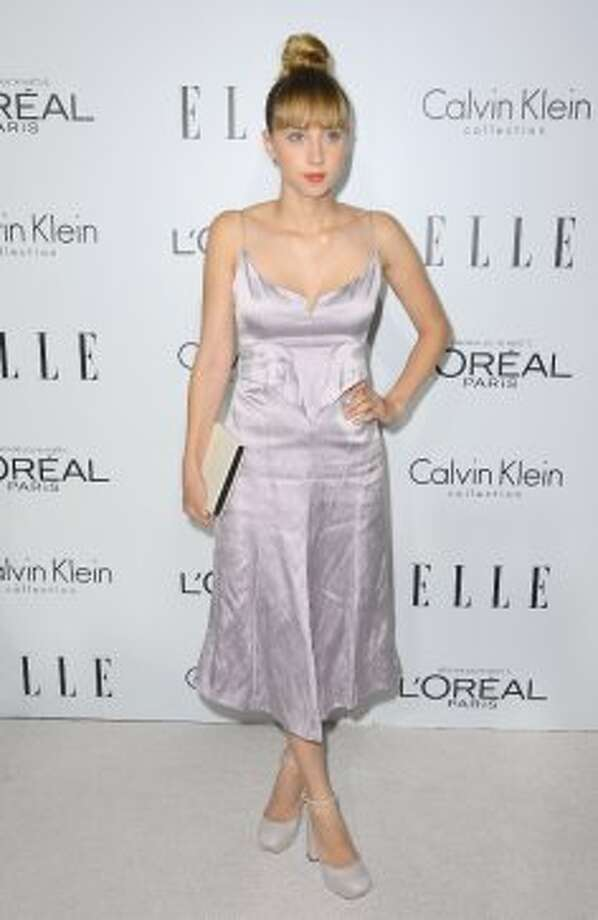 Actress Zoe Kazan arrives at ELLE's 19th Annual Women In Hollywood Celebration at the Four Seasons Hotel on October 15, 2012 in Beverly Hills, California.   (Frazer Harrison / Getty Images)