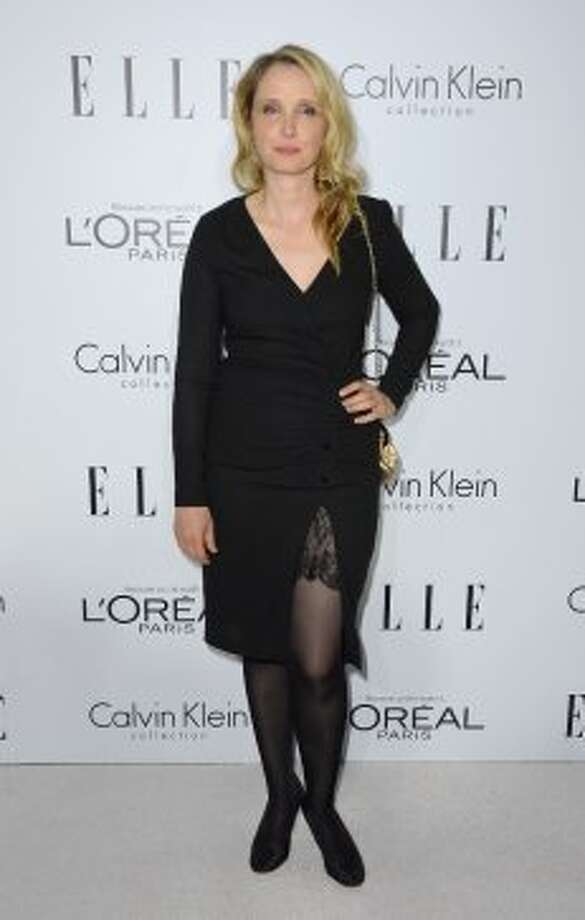 Actress Julie Delpy arrives at ELLE's 19th Annual Women In Hollywood Celebration at the Four Seasons Hotel on October 15, 2012 in Beverly Hills, California.  (Frazer Harrison / Getty Images)