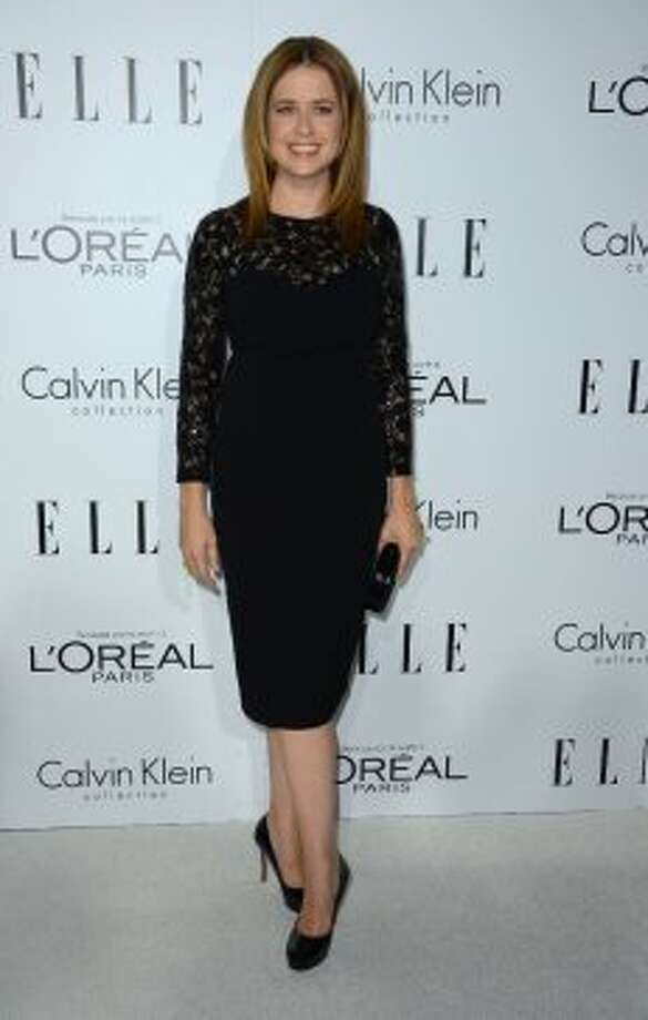 Actress Jenna Fischer arrives at ELLE's 19th Annual Women In Hollywood Celebration at the Four Seasons Hotel on October 15, 2012 in Beverly Hills, California.  (Frazer Harrison / Getty Images)