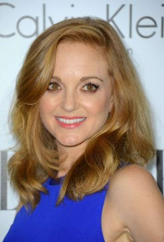 Actress Jayma Mays arrives at ELLE's 19th Annual Women In Hollywood Celebration at the Four Seasons Hotel on October 15, 2012 in Beverly Hills, California.   (Frazer Harrison / Getty Images)