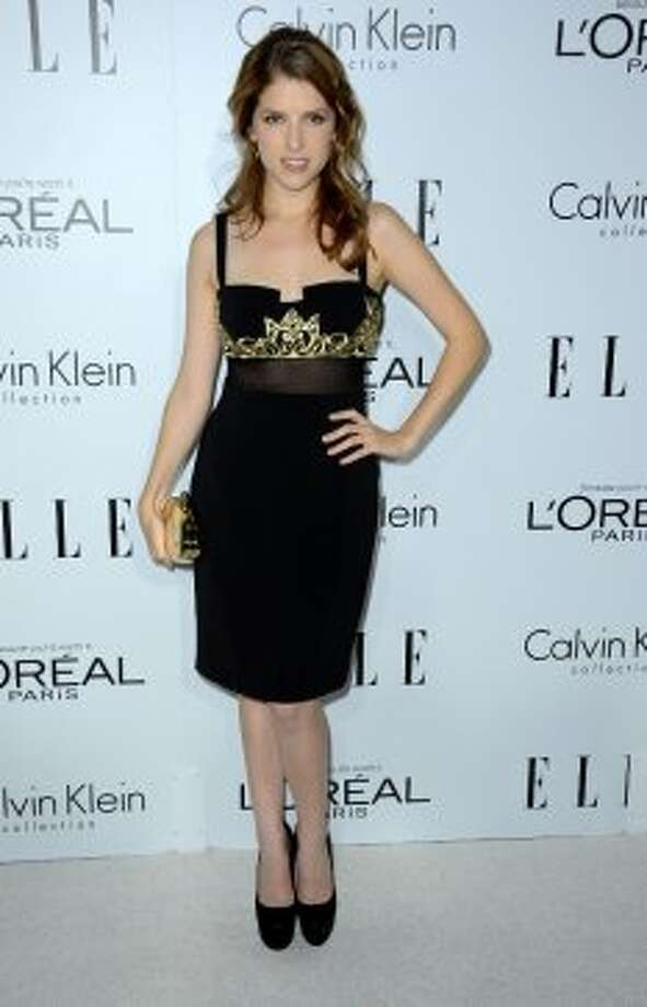 Actress Anna Kendrick arrives at ELLE's 19th Annual Women In Hollywood Celebration at the Four Seasons Hotel on October 15, 2012 in Beverly Hills, California.  (Frazer Harrison / Getty Images)
