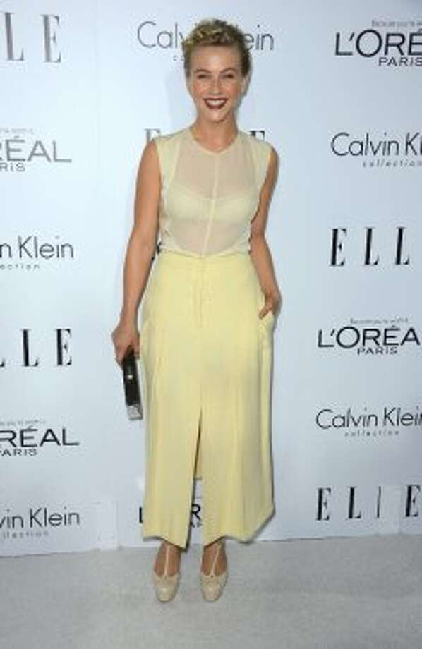 Actress Julianne Hough arrives at ELLE's 19th Annual Women In Hollywood Celebration at the Four Seasons Hotel on October 15, 2012 in Beverly Hills, California. (Frazer Harrison / Getty Images)