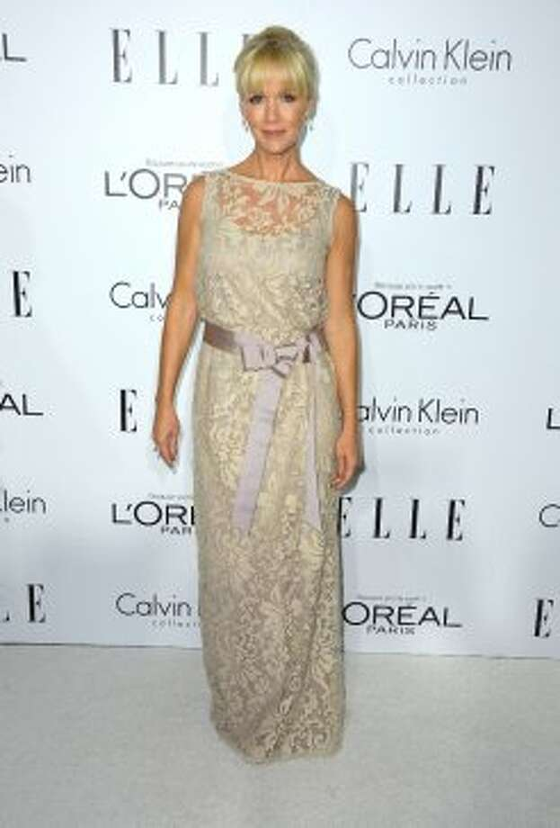 Actress Jennie Garth arrives at ELLE's 19th Annual Women In Hollywood Celebration at the Four Seasons Hotel on October 15, 2012 in Beverly Hills, California.   (Frazer Harrison / Getty Images)