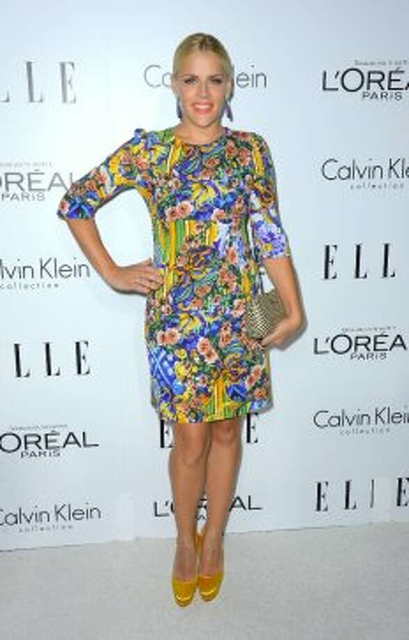 Actress Busy Phillips arrives at ELLE's 19th Annual Women In Hollywood Celebration at the Four Seasons Hotel on October 15, 2012 in Beverly Hills, California.  (Frazer Harrison / Getty Images)