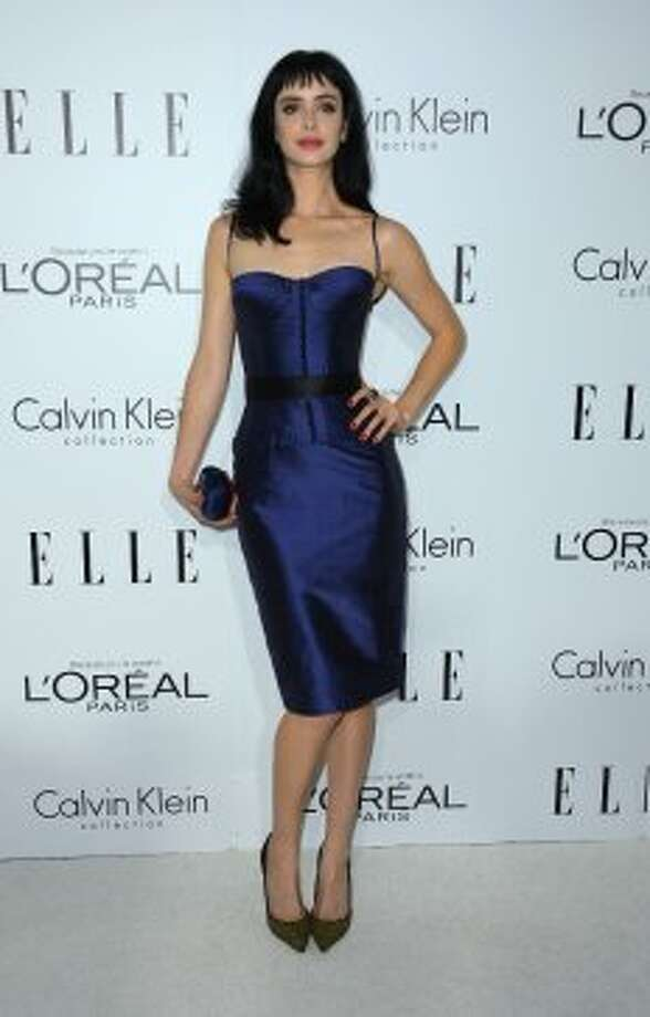 Actress Krysten Ritter arrives at ELLE's 19th Annual Women In Hollywood Celebration at the Four Seasons Hotel on October 15, 2012 in Beverly Hills, California.  (Frazer Harrison / Getty Images)