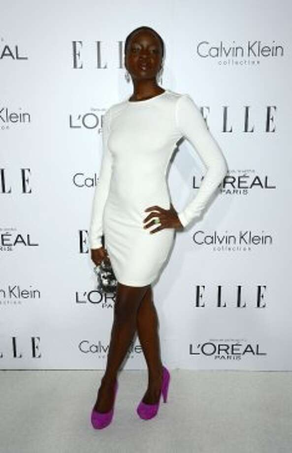 Actress Danai Gurira arrives at ELLE's 19th Annual Women In Hollywood Celebration at the Four Seasons Hotel on October 15, 2012 in Beverly Hills, California. (Frazer Harrison / Getty Images)