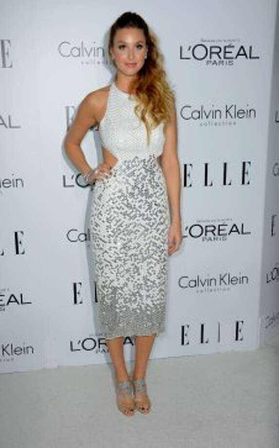 Actress Whitney Port arrives at ELLE's 19th Annual Women In Hollywood Celebration at the Four Seasons Hotel on October 15, 2012 in Beverly Hills, California.   (Frazer Harrison / Getty Images)