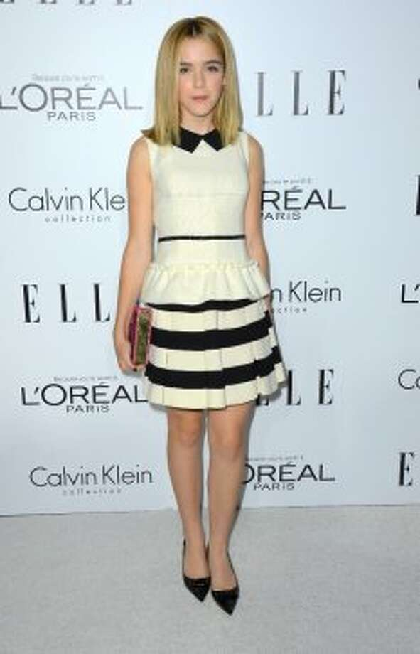 Actress Kiernan Shipka arrives at ELLE's 19th Annual Women In Hollywood Celebration at the Four Seasons Hotel on October 15, 2012 in Beverly Hills, California.   (Frazer Harrison / Getty Images)