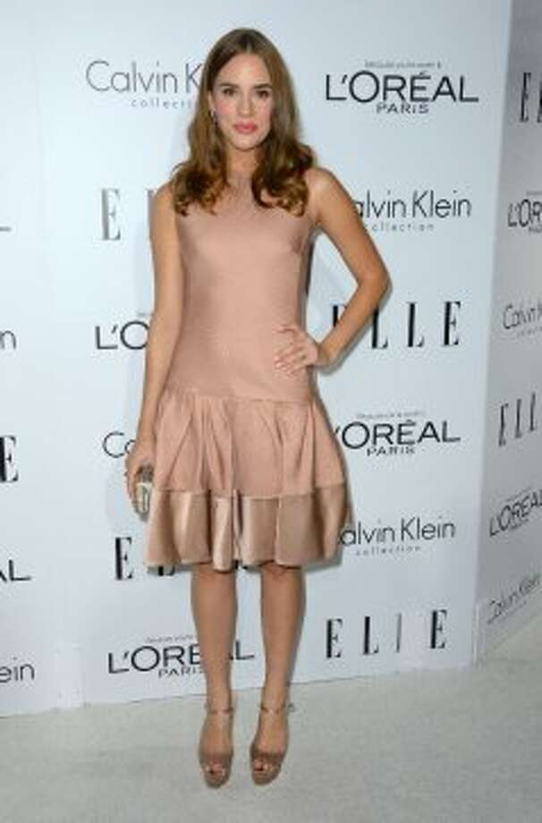Actress Christa B. Allen arrives at ELLE's 19th Annual Women In Hollywood Celebration at the Four Seasons Hotel on October 15, 2012 in Beverly Hills, California.  (Frazer Harrison / Getty Images)