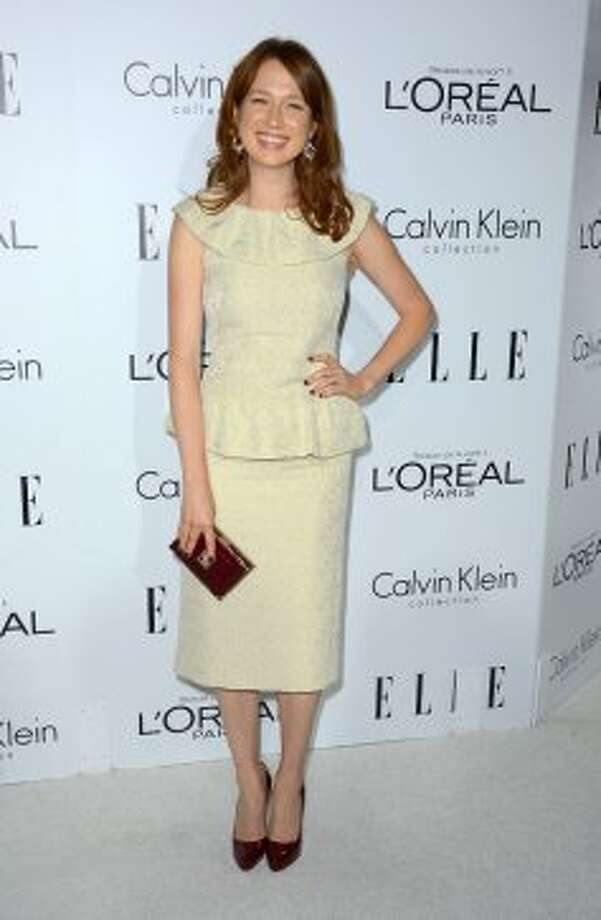 Actress Ellie Kemper arrives at ELLE's 19th Annual Women In Hollywood Celebration at the Four Seasons Hotel on October 15, 2012 in Beverly Hills, California.  (Frazer Harrison / Getty Images)