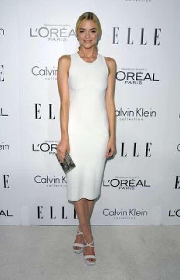 Actress Jaime King attends the 19th Annual ELLE Women In Hollywood Celebration in Los Angeles on Monday, Oct. 15, 2012.  ( John Shearer / Associated Press)