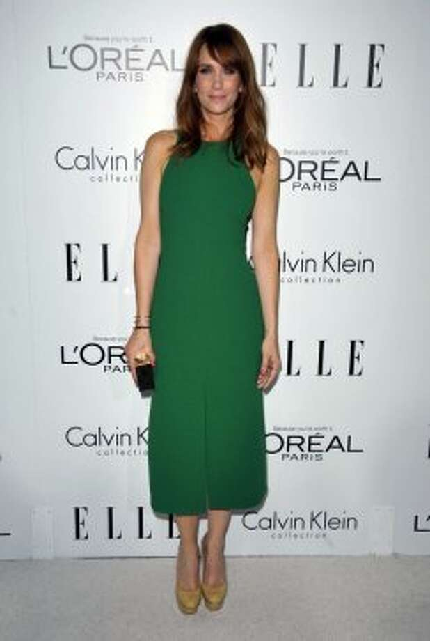 Actress Kristen Wiig attends the 19th Annual ELLE Women In Hollywood Celebration in Los Angeles on Monday, Oct. 15, 2012.  ( John Shearer/Invision / Associated Press)