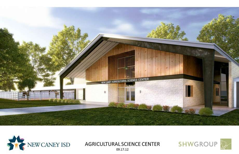 The New Caney Independent School District's new $3.23 million agriculture science center will be part barn, part exposition center and part schoolhouse. Photo: Handout