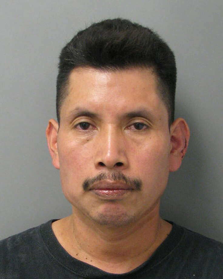 Horacio Ramirez Perez, 43, was sentenced to 10 months in the Harris County Jail after pleading guilty to a misdemeanor assault charge. He allegedly hit a coworker with a long-handled pizza spatula at a Bellaire restaurant. (HCSO photo) Photo: Handout
